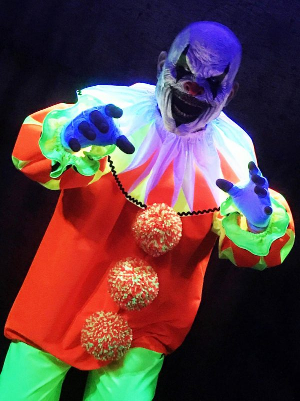 Beamy 2 the UV/Blacklight Clown