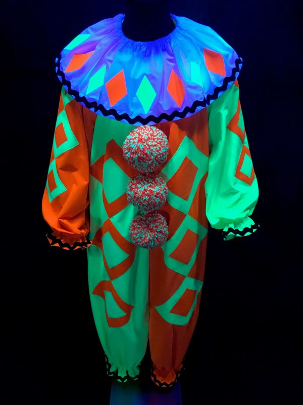 Beamy the UV/Blacklight the Clown