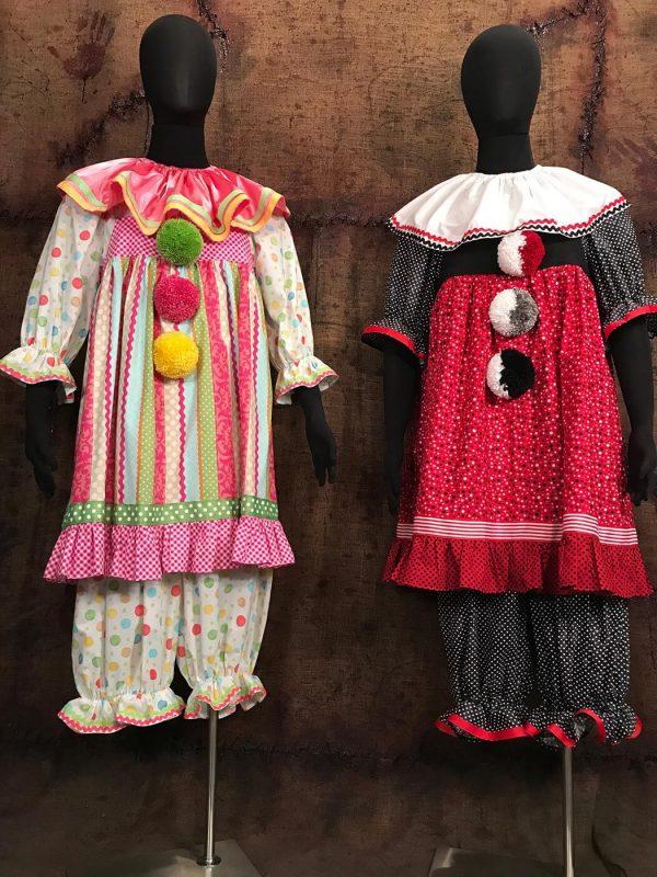 Dotty & Knotty Crazy Clown Costumes