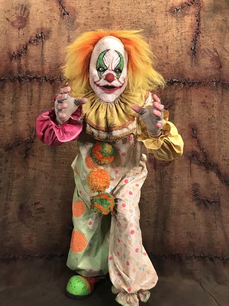 dewey the clown crazy clowns collection dark creations atx