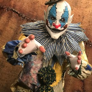 Blye Stitched Vintage Clown